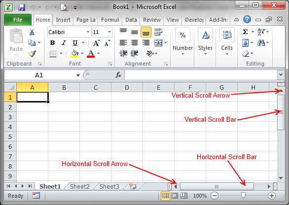 Navigate_Excel_2010_1