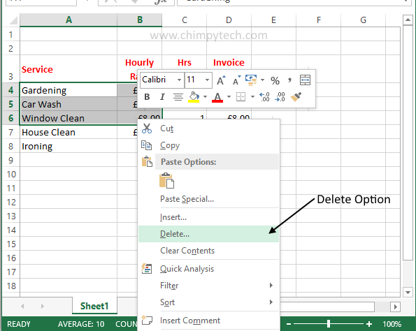 Deleting Excel Data1
