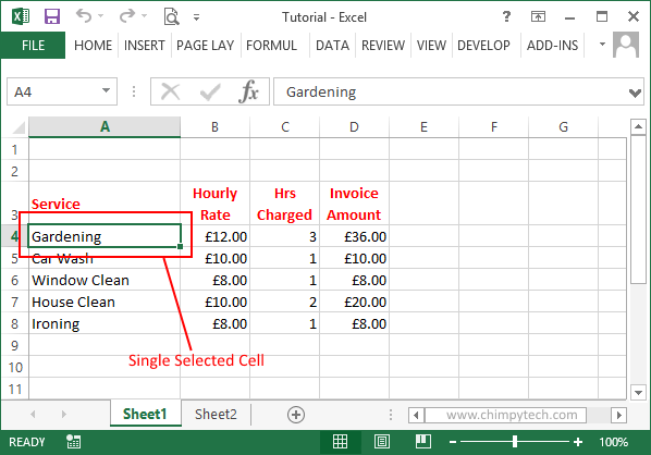 Excel_Select_Single_Cell