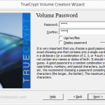 Create Password for TrueCrypt Volume