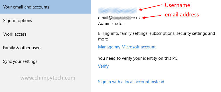 Microsoft Account